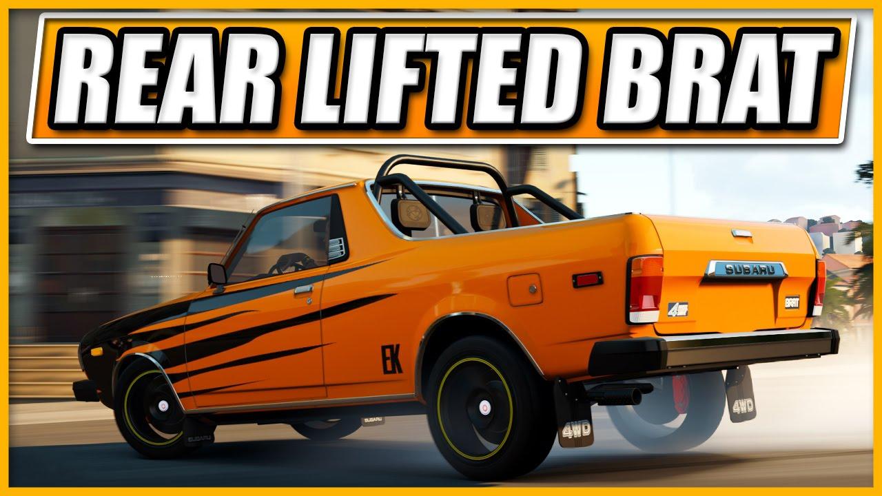 Forza Horizon 2 - REAR LIFTED SUBARU BRAT! - NFS No Limits GP Trailer ...