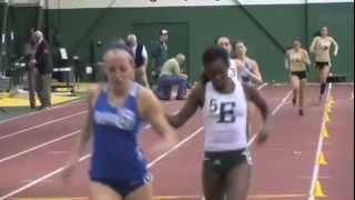Eastern Michigan University Women's Indoor Track Team Jan. 2013