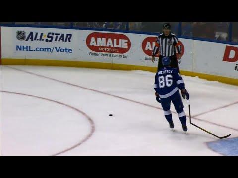 Kucherov unlucky in shootout as stick breaks mid-shot against Senators