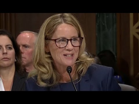 Christine Blasey Ford questioned about her fear of flying