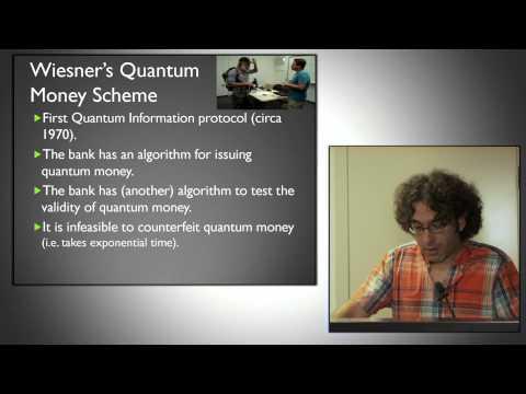 Bitcoin versus Quantum Money (Or Sattath, August 2014)