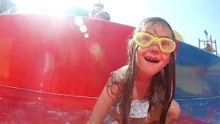 summer holiday Spain salou aquapolis silly kids fun летний отдых Испания салоу аква дети веселье