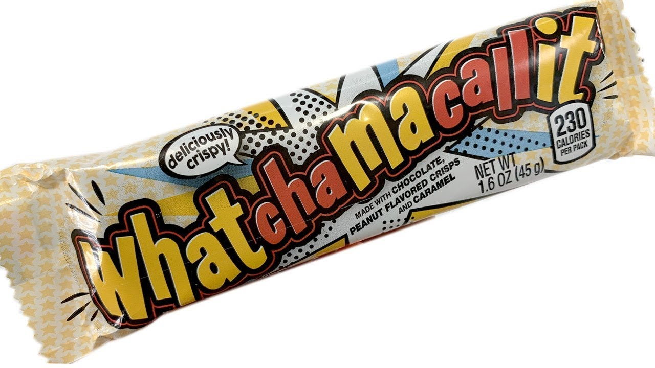 Whatchamacallit Candy Bar Unwrapping - YouTube