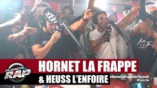 """Hornet La Frappe """"Même secteur"""" Ft Heuss L'enfoiré #PlanèteRap"""