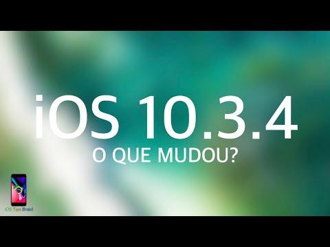 IOS 10.3.4  - O QUE MUDOU? (Atualização Do IOS 10)