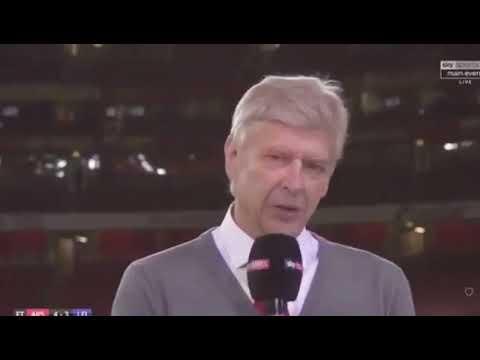Arsenal vs Leicester City 4-3 Arsene Wenger post match interview 11 8 2017