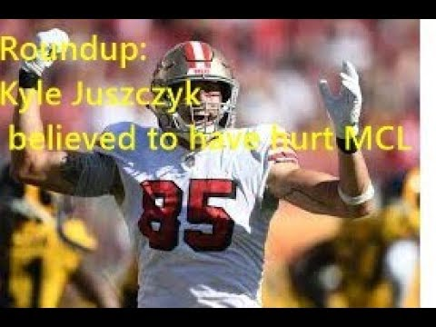 49ers lose fullback Kyle Juszczyk for up to six weeks due to MCL sprain suffered in Week 5