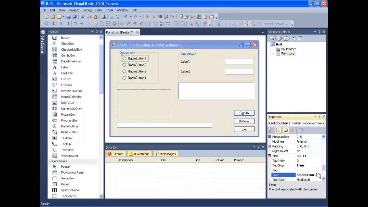 Programming In Visual Basic Bradley Millspaugh