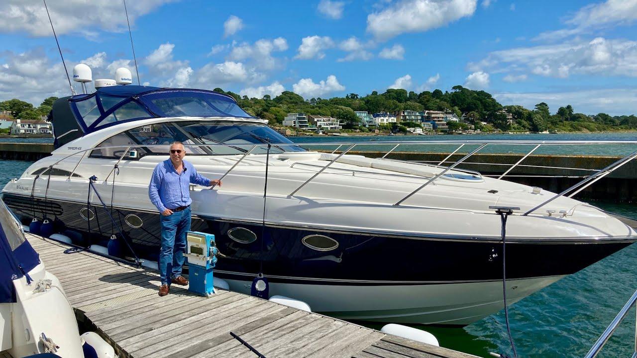 £150,000 Yacht Tour : 2001 Fairline Targa 43