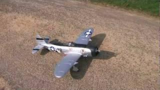 bad landing yak 54 e flite p 47 parkzone rc plane