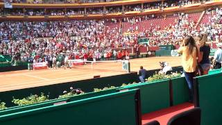 Semifinal copa davis  España Francia en Córdoba parte 11