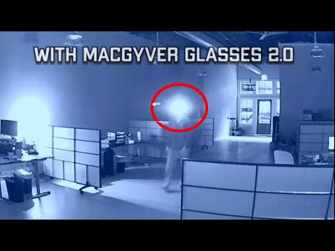How To Make Sunglasses That Block Of Security Camera - Macgyver Style