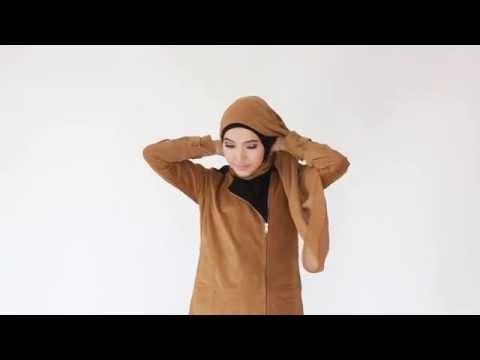 Tutorial Hijab Pashmina Chiffon Sporty - YouTube
