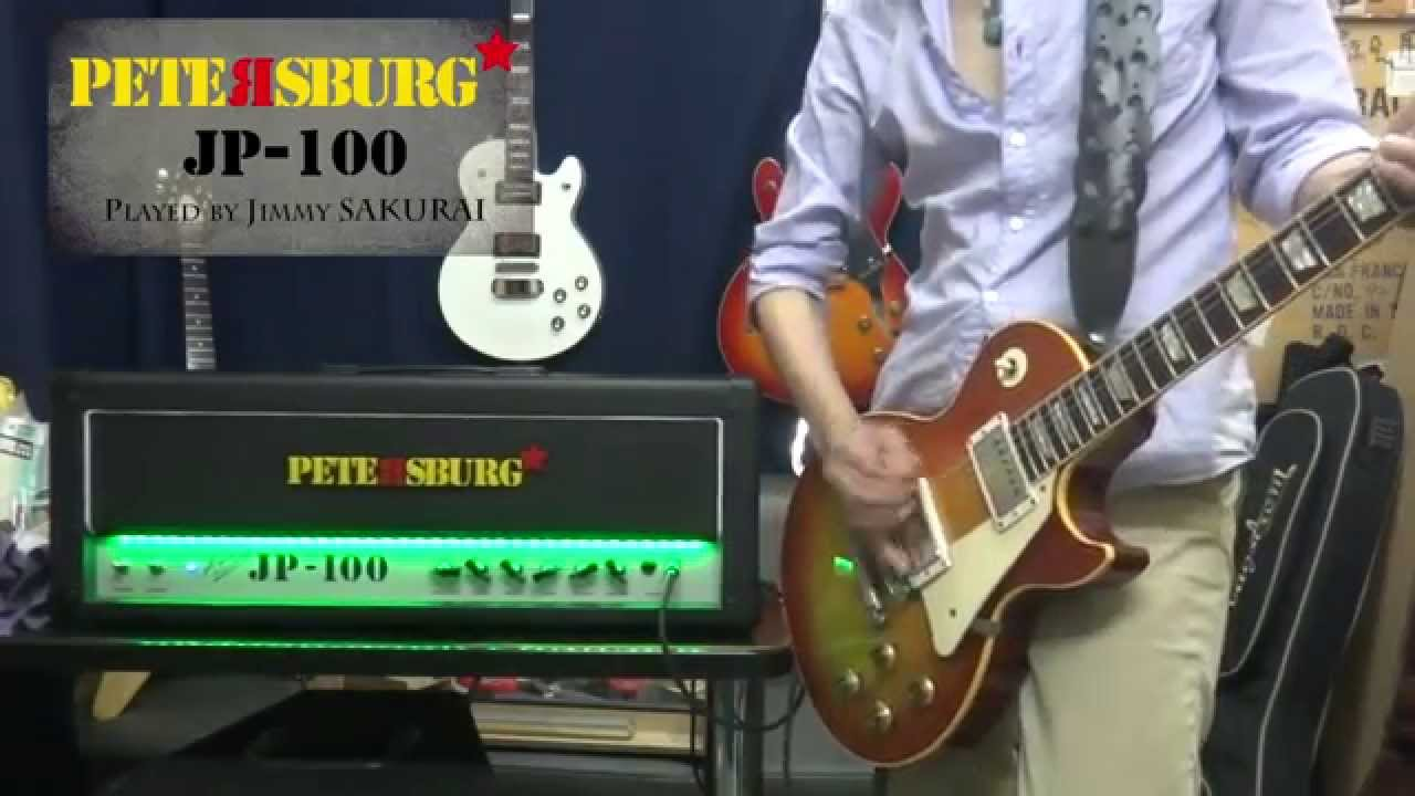 100 Amp Disconnect >> Petersburg | JP-100 Guitar Amp Head played by Jimmy ...