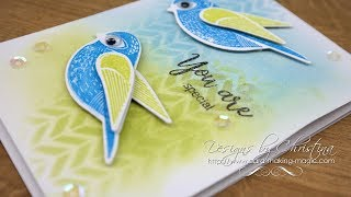 Simply Cards & Papercraft 165 (SC&P165) - Little Bird Stamp and Dies