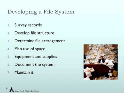 Implementing a Modern Files Management System
