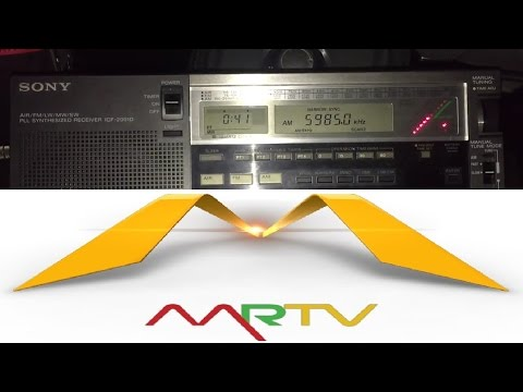 200 metre longwire: Myanmar Radio 5950 kHz, Yangon, best reception to-date