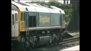 Scrap EMUs to MOD Caerwent Defence Rail Depot. May 2005