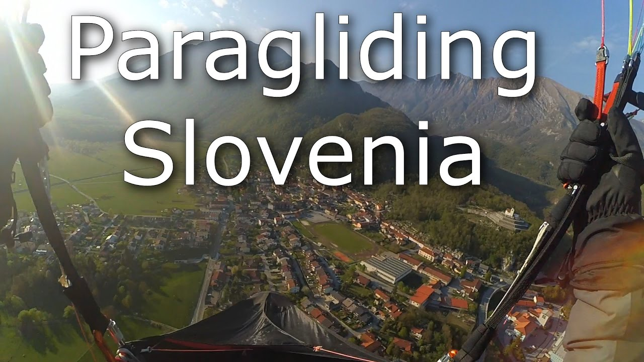 Paragliding cross country in Slovenia