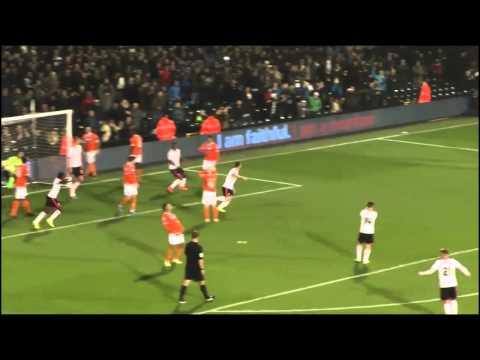 Gol Olímpico de Bryan Ruiz con el Fulham