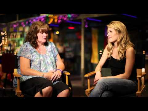 Sally Pressman from Army Wives s Paulette Nelson, USO Volunteer  Part 1