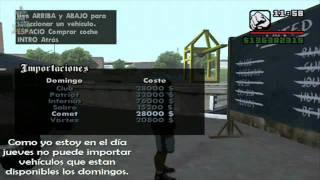 Gta San Andreas Importaciones De Vehículos Mq Youtube