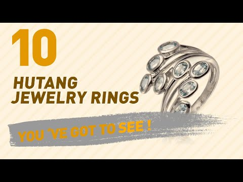 Hutang Jewelry Rings Top 10 Collection // UK New & Popular 2017