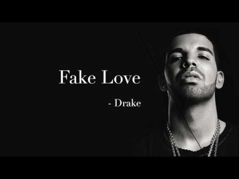 Drake-fake love(lyrics\audio)
