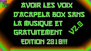 Acapela box music in background