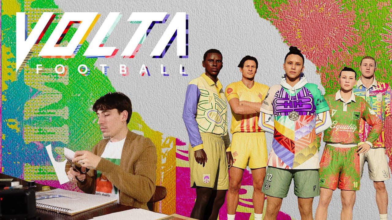 VOLTA Football Kit Designs: Hector Bellerin