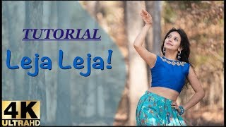 Leja Re Dance Tutorial | Dance Lesson | Dance Steps | Dhvani Bhanushali |