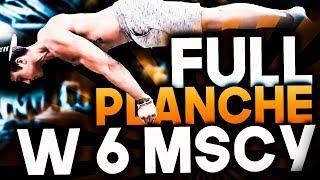 FULL PLANCHE w 6 MIESIĘCY!!!