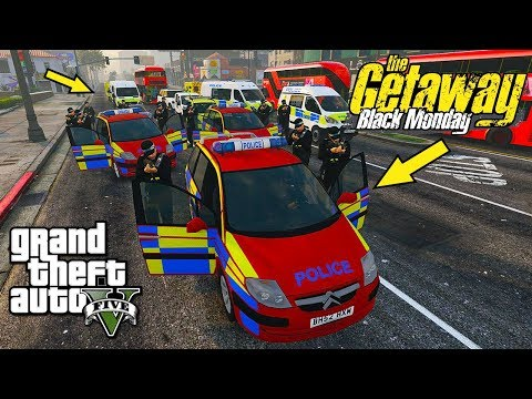 GTA 5 MODS UK POLICE/THE GETAWAY PS2?! | LSPDFR: THE BRITISH WAY #168 (GTA 5 REAL LIFE POLICE MOD)