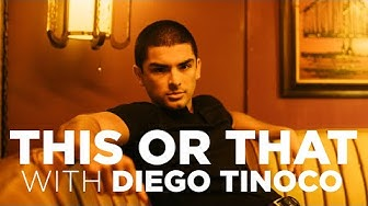 """Diego Tinoco plays the """"This or That"""" game 