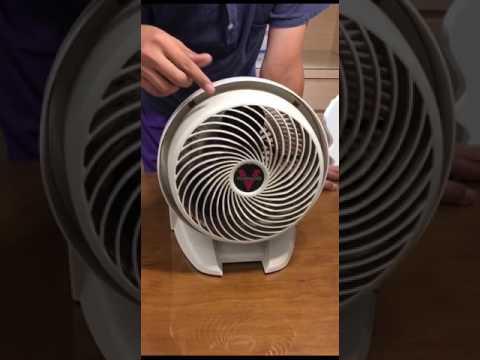 (強森維修)Vornado維修-強森示範Vornado 630循環扇簡易拆卸