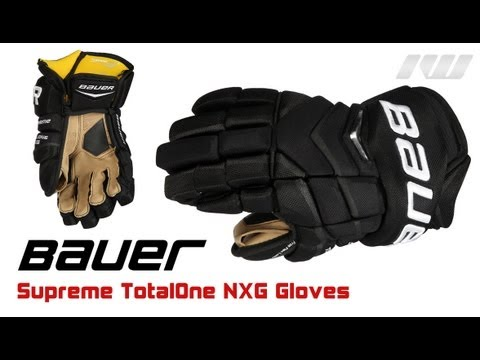 ab75e17b23c410 Bauer Supreme TotalONE NXG Glove Review - YouTube