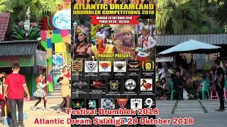 Drumblek Kesongo- Festival drumblek Atlantic Dreamland 28 October 2018
