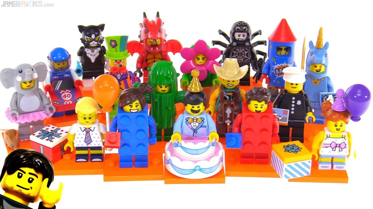 LEGO Series 18 Collectible Minifigures review! All 17 ...