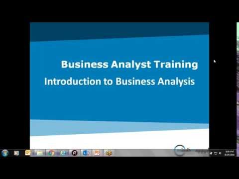 Business Analyst Training Live Demo Video by MindsMapped (Trainer Lakshmi)