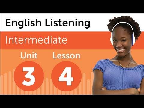 English Listening Comprehension - Talking About a Person in English