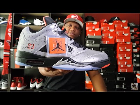 hot sale online 12c39 6d38c AIR JORDAN 5 LOW  NEYMAR  REVIEW AND ON FEET!!!