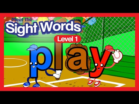 Meet the Sight Words - Level 1 (FREE) | Preschool Prep Compa
