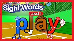 Meet the Sight Words - Level 1 (FREE)   Preschool Prep Company