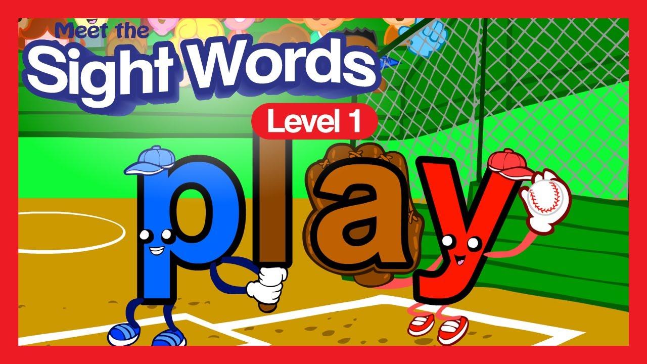 hight resolution of Meet the Sight Words - Level 1 (FREE)   Preschool Prep Company - YouTube