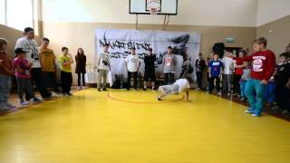,,Nakreśleni Przestrzenią 2014 / Finał 1vs1 Kids Battle / Chorzeł (Ryn) vs Dawid (Mrągowo)