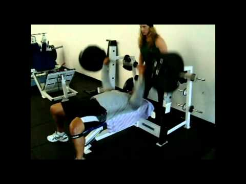 Andre Coney - Bench Press