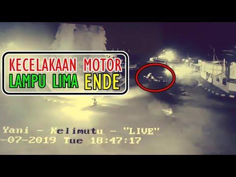 Detik-detik Laka Lantas Simpang Lima Ende