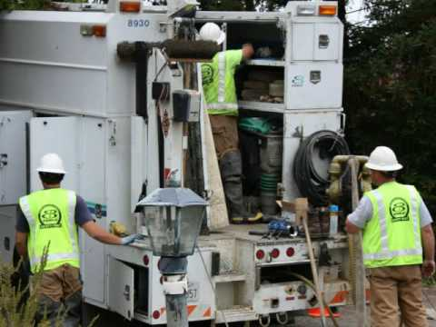EBMUD Water Line Repair in Castro Valley, CA (short version)