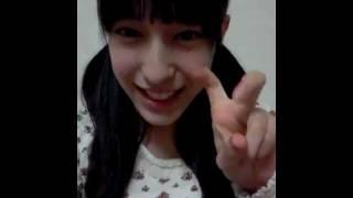 AKB48 12期研究生 平田梨奈(ひらりー) ローラさんのものまねをしまし...