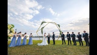 A geometrical wedding in Havana/ Cuba Geometrical Garden Wedding